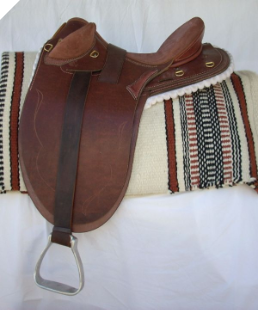 AVAILABLE NOW - NEW Stock Saddle in stock (bare - no mounts)
